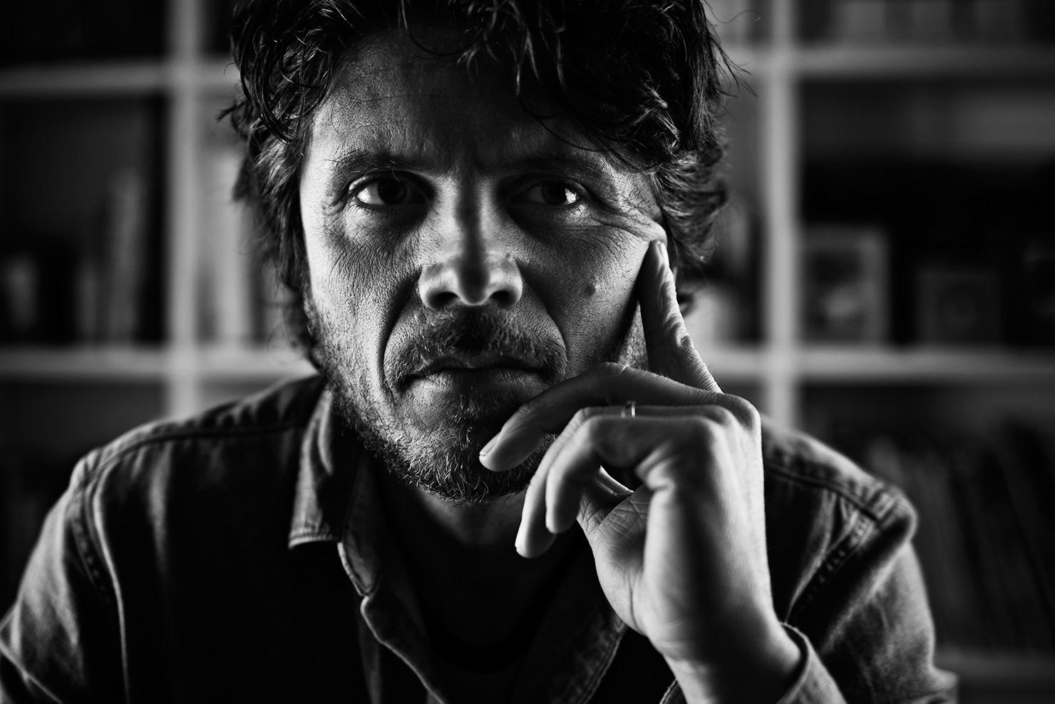Lorenzo Cicconi Massi.Portrait by  Wilson Santinelli