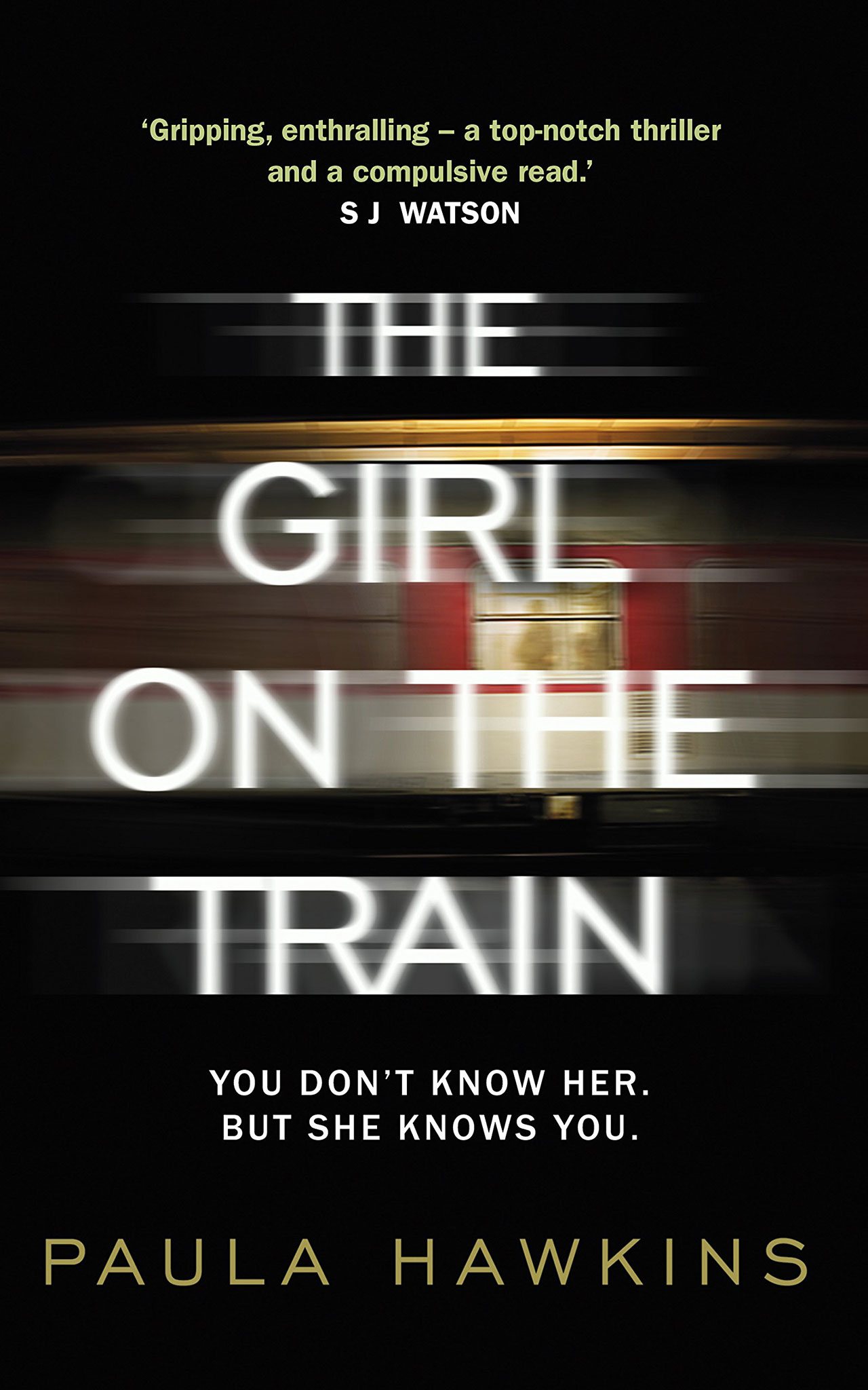 The Girl on the Train   by Paula Hawkin