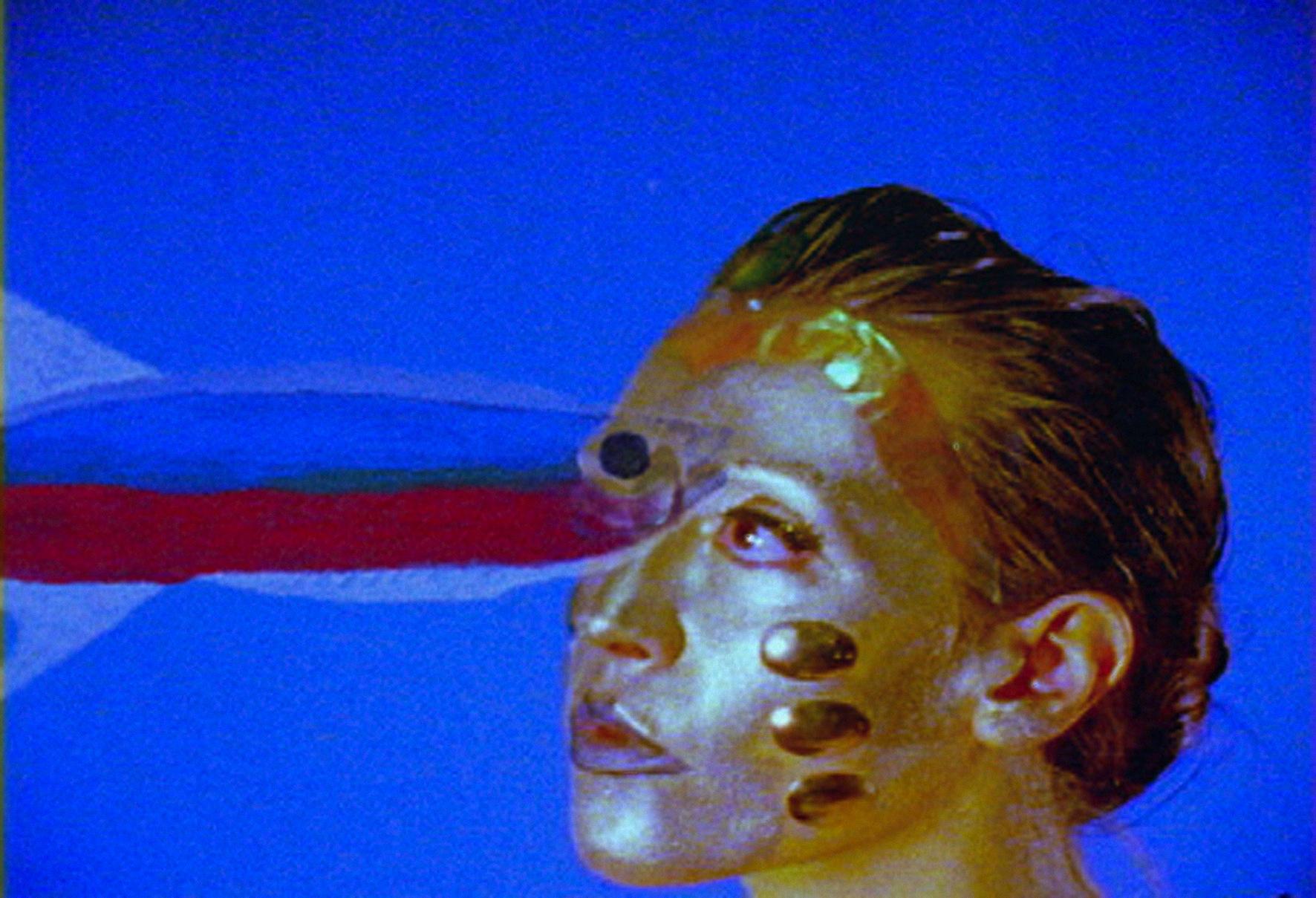 "Distruktur (Melissa Dullius & Gustavo Jahn), ""5 truly false clues (prologue of the film Éternau)"", 2006, film still. Courtesy the artist."