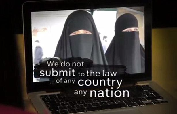 From Channel 4 documentary,  Isis: The British Women Supporters Unveiled