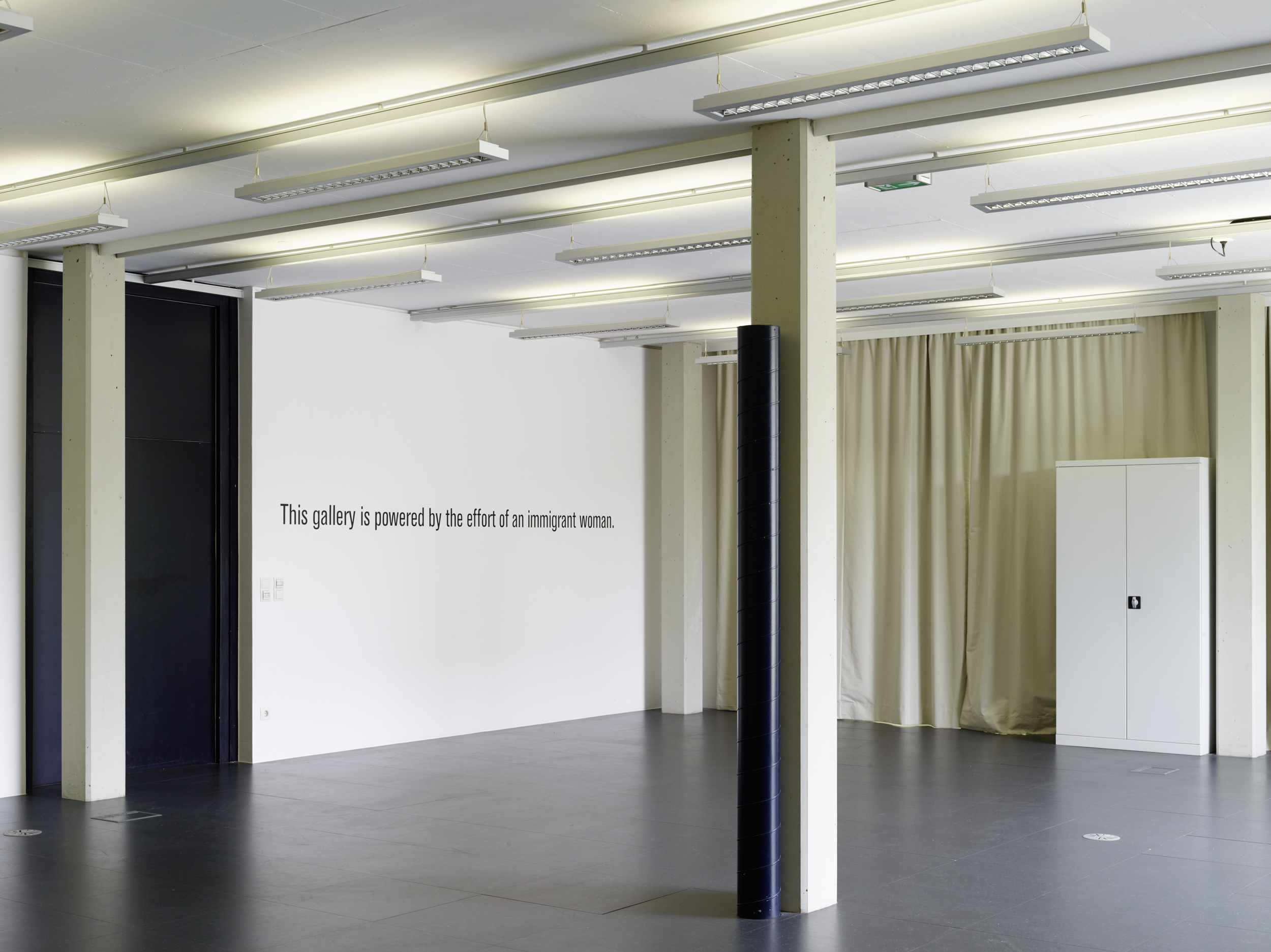 'Natalia Turn the Lights On' exhibition view, Photo:    Kunstraum Lakeside