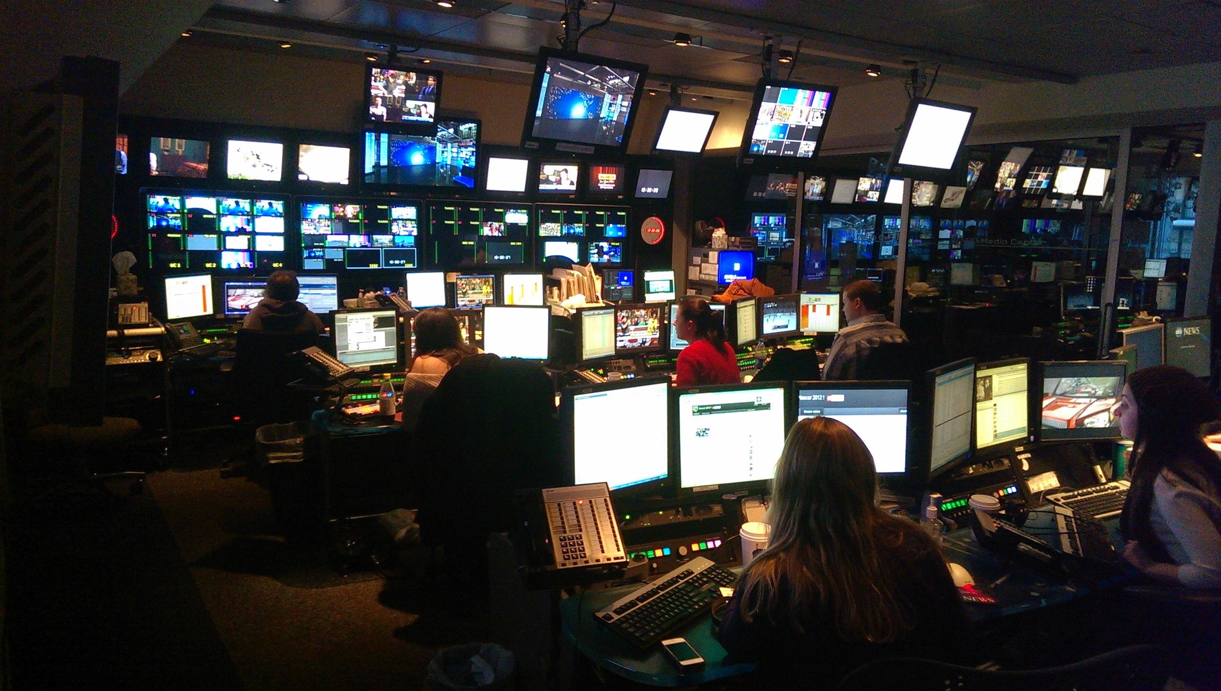 ABC news room