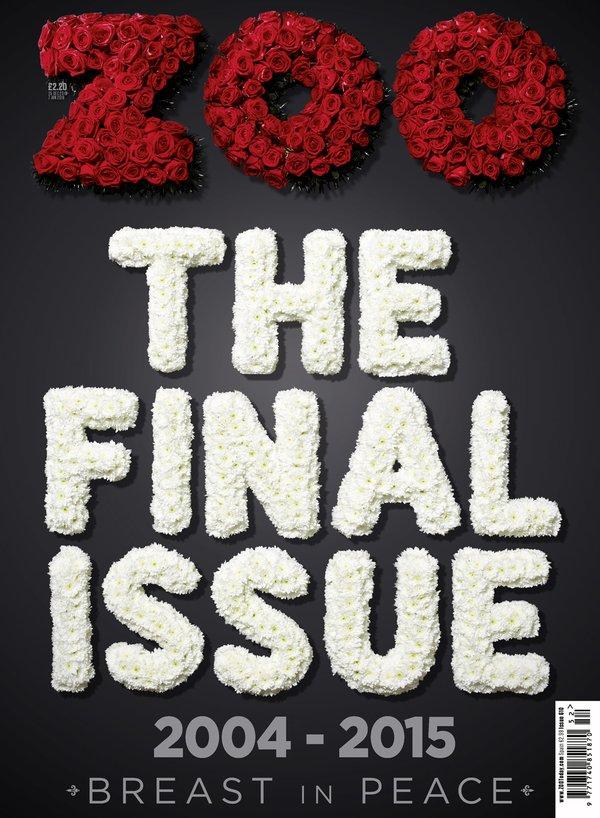 Zoo magazine's last issue, 2015