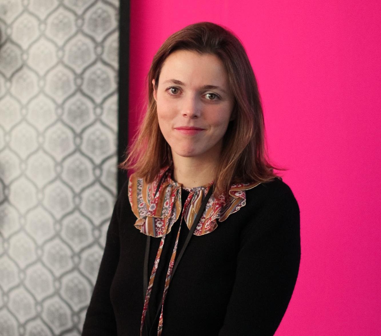 Curator, Federica Chiocchetti  at Photo50 exhibition, London 2016