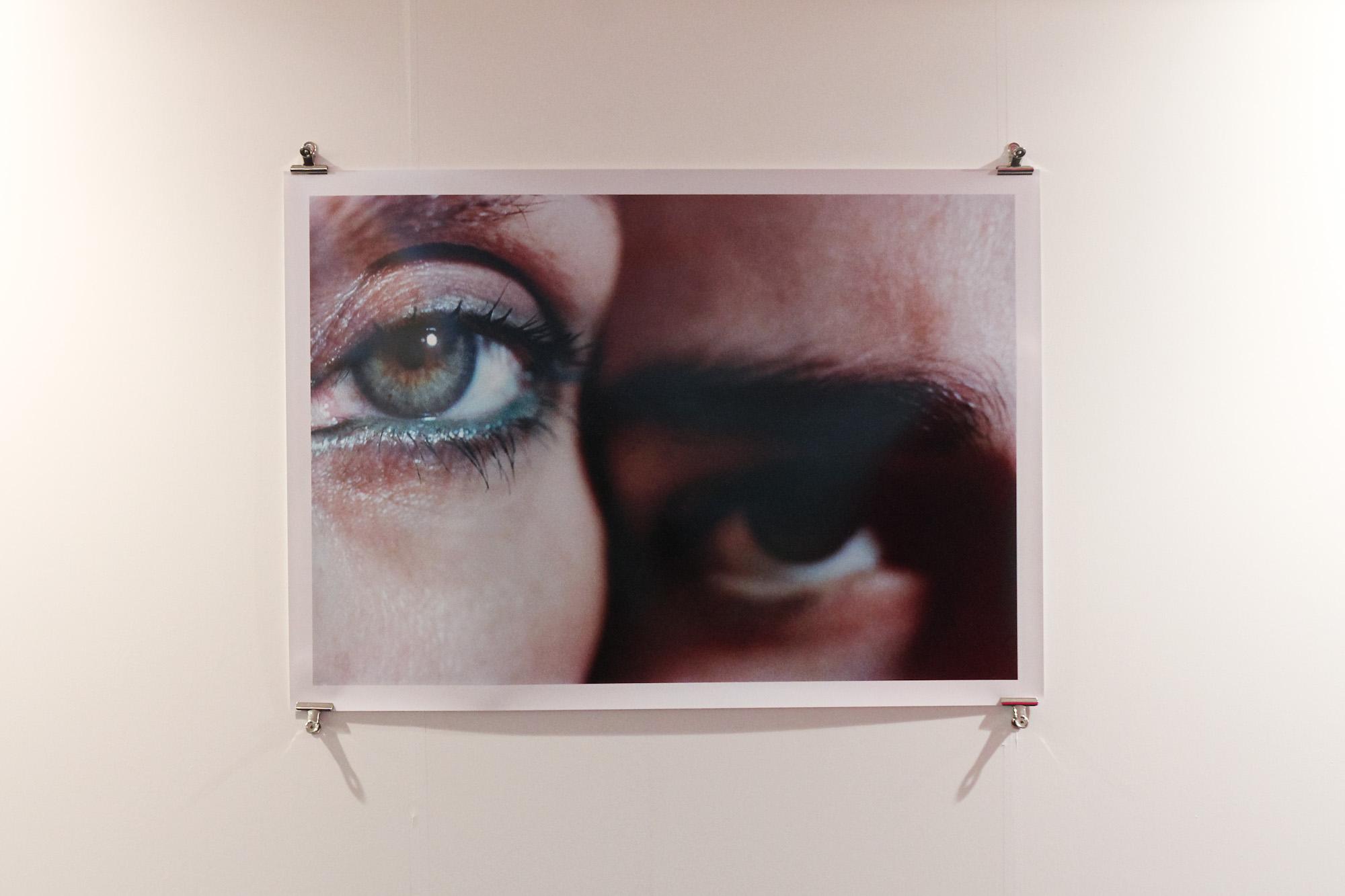 Two Eyes, 1993 by Elinor Carucci