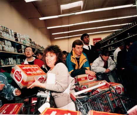 From the series  One Day Trip,  1989 by Martin Parr