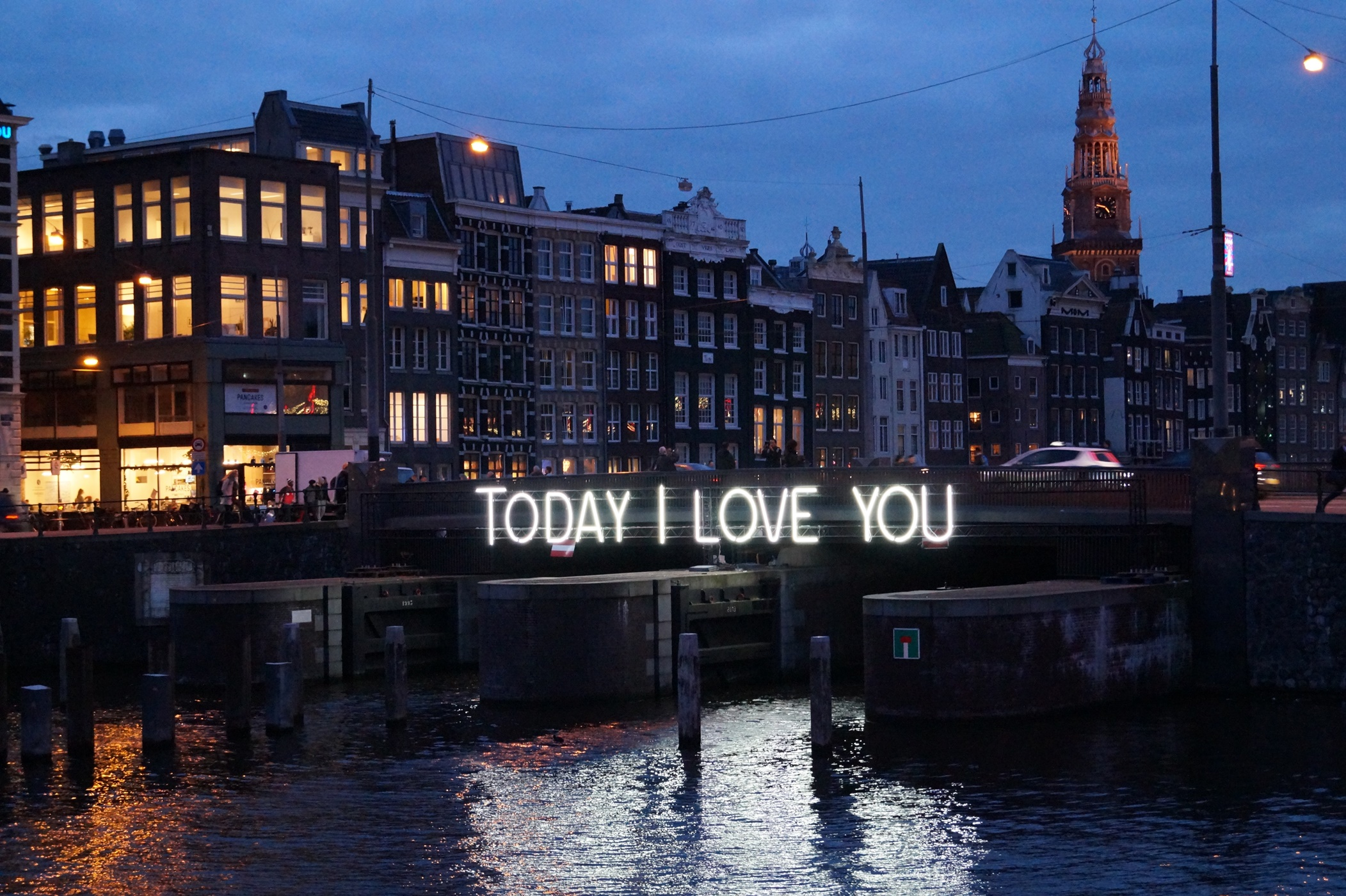 'Today I Love You' installation by Massimo Uberti
