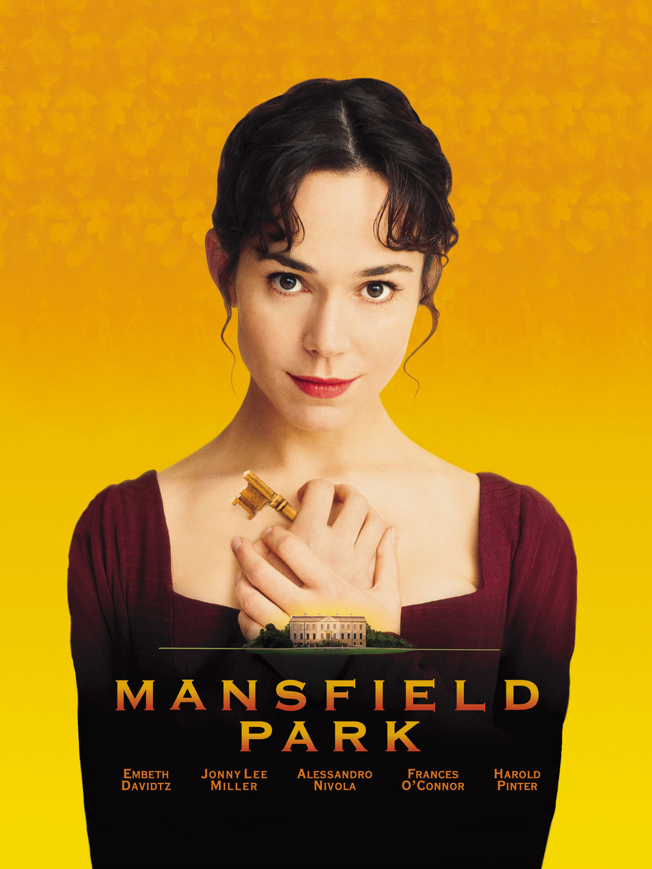 Film poster for ' Mansfield Park' 1999,   directed by Patricia Rozema