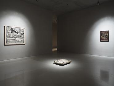Exhibition view: first floor at Kolumba art museum