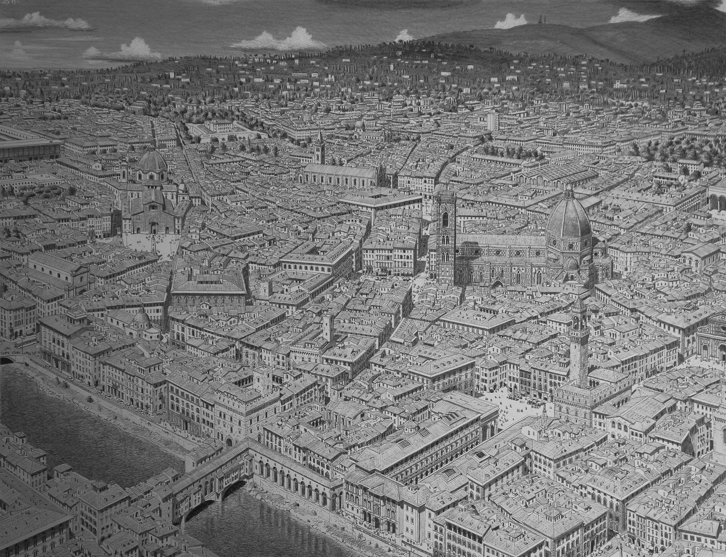 Capriccio City by the Tiber, 2015