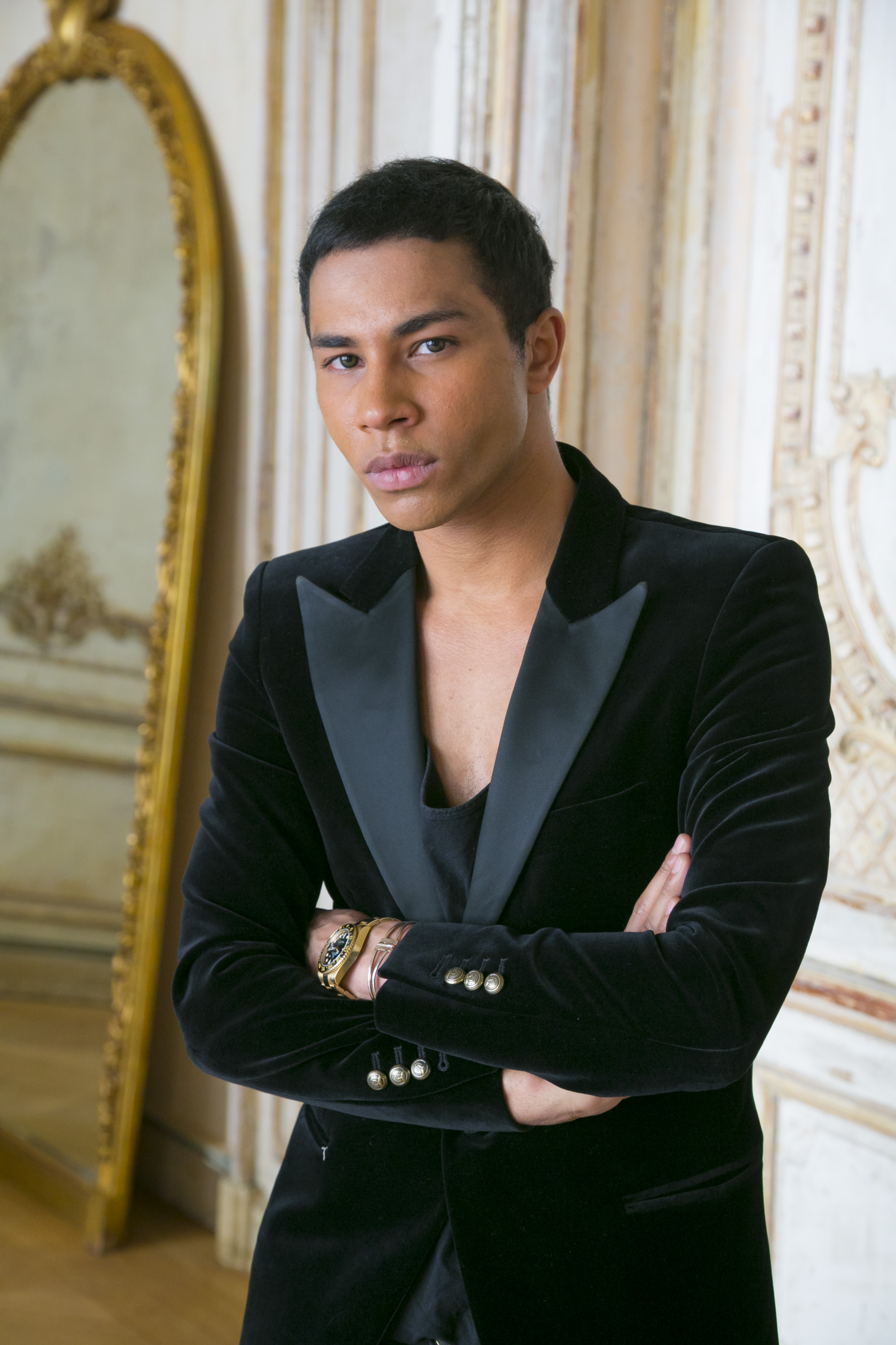 Olivier Rousteing, Creative Director at Balmain from 2011 - present.