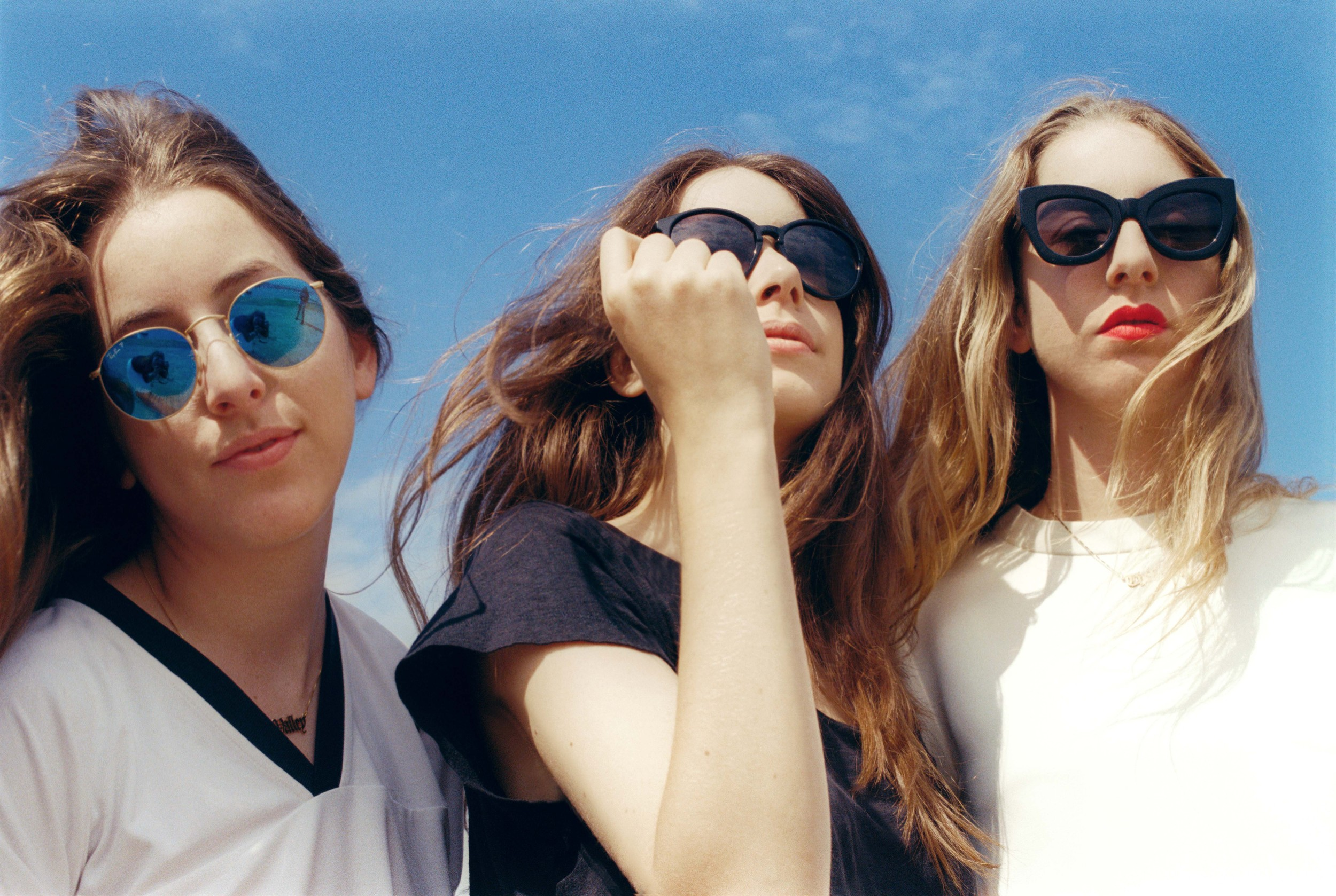 HAIM TEASE NEW MUSIC