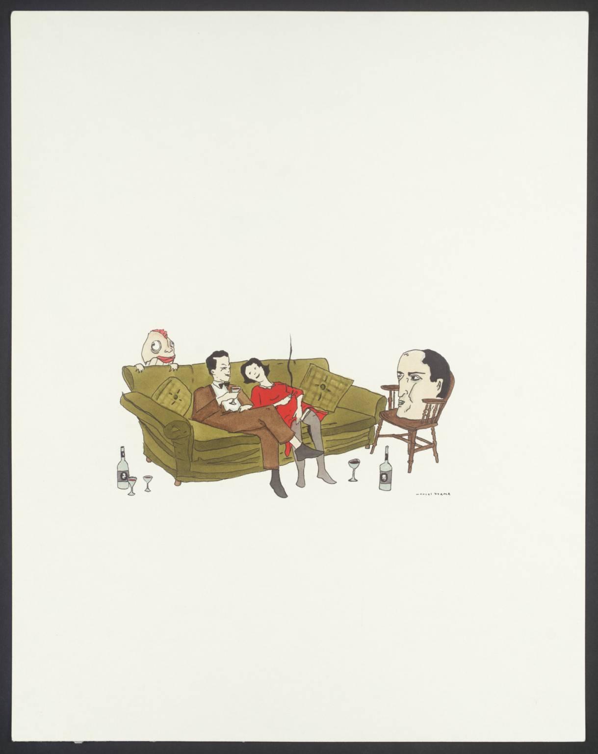 Untitled 2003, by Marcel Dzama