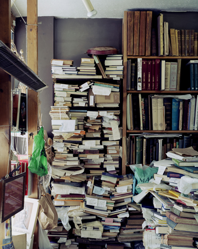 Bookshelves , 2004 by Nigel Shafran