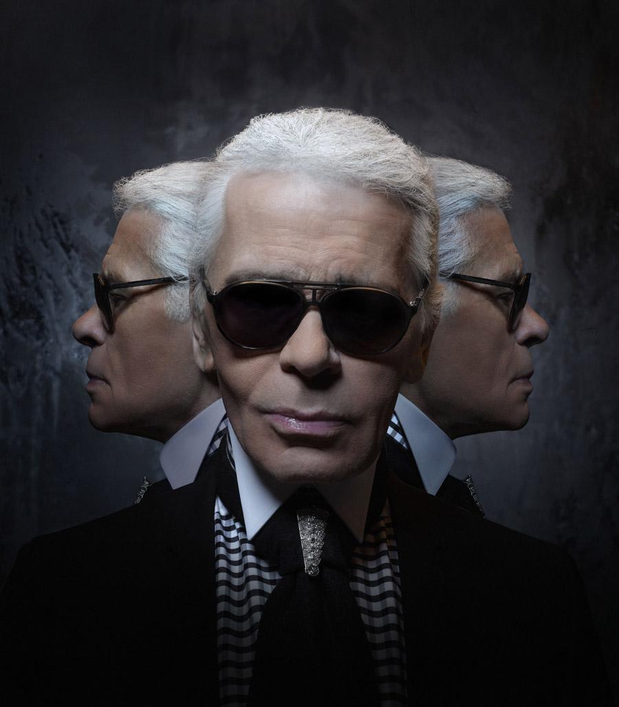 Karl Lagerfeld, Self-Portrait 2013
