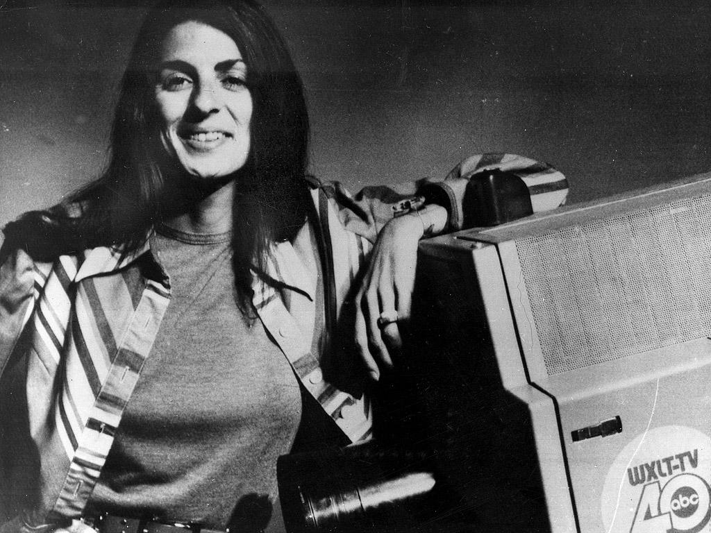 Christine Chubbuck in 1974. Photo by John Cloud/Sarasota Journal/AP
