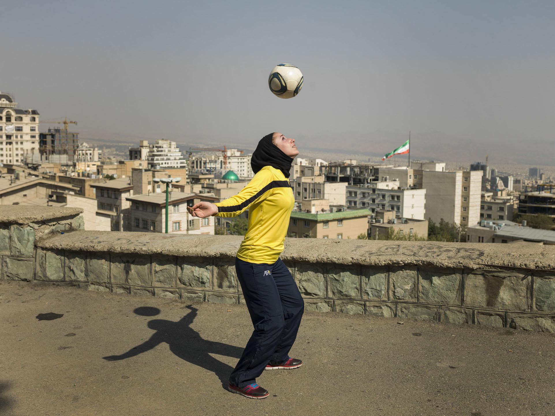 Katayoun Khosrowyar, p  hoto by Newsha Tavakolian/Magnum for    WS    J .