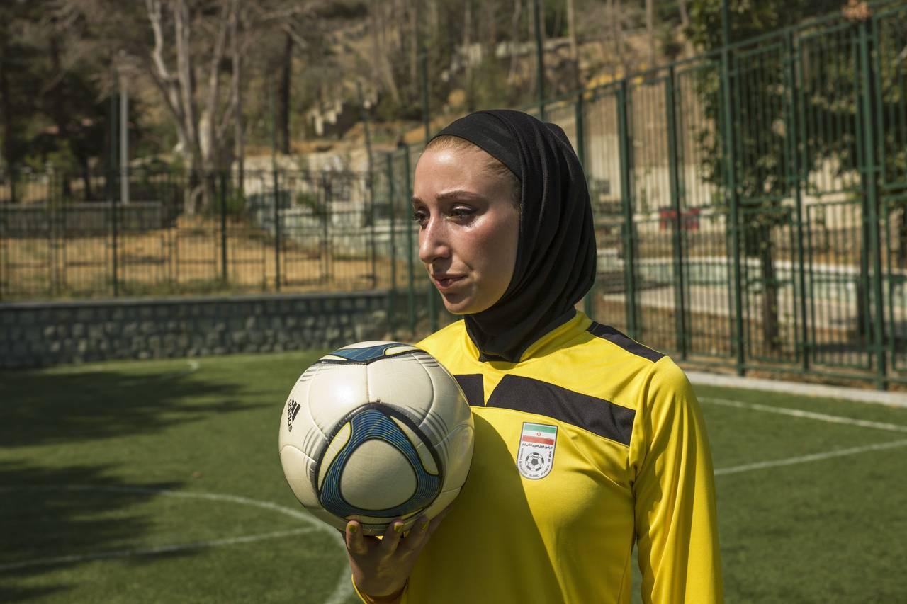 Katayoun Khosrowyar, photo by Newsha Tavakolian/Magnum for  WSJ .