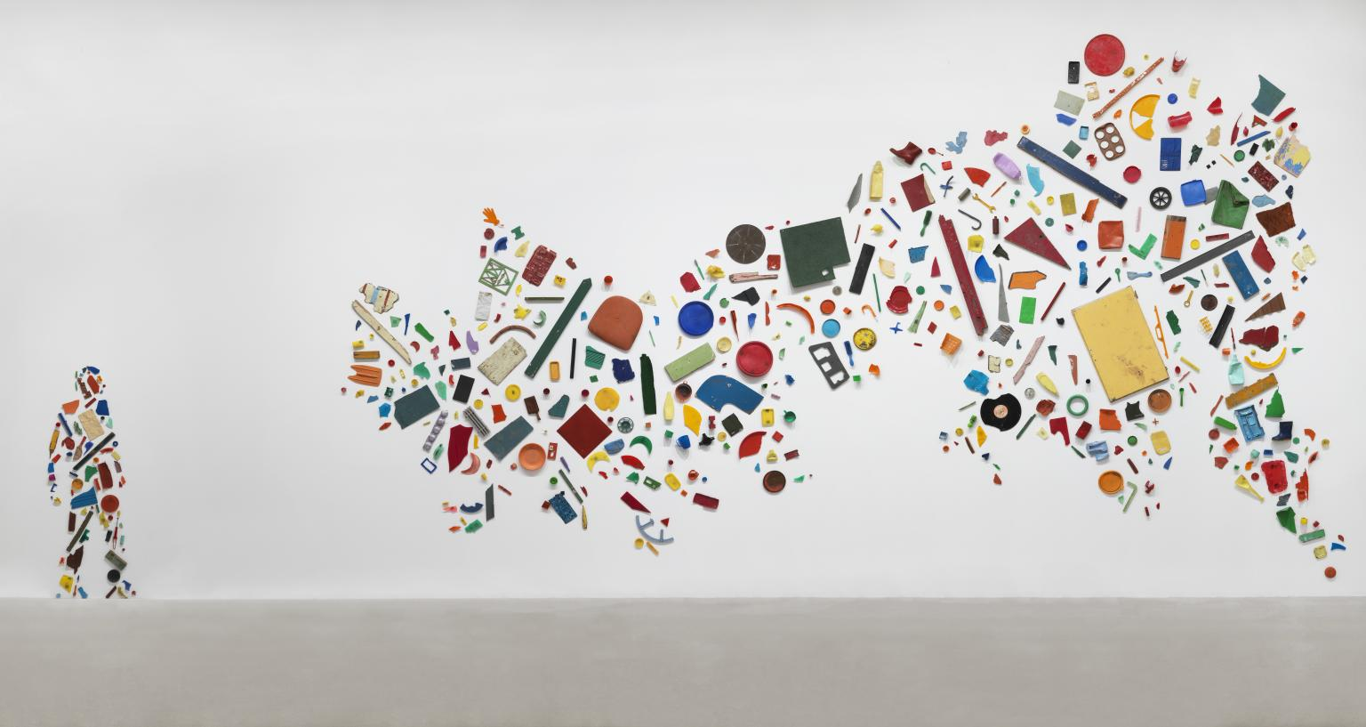 Britain Seen from the Northen ,1981 by Tony Cragg
