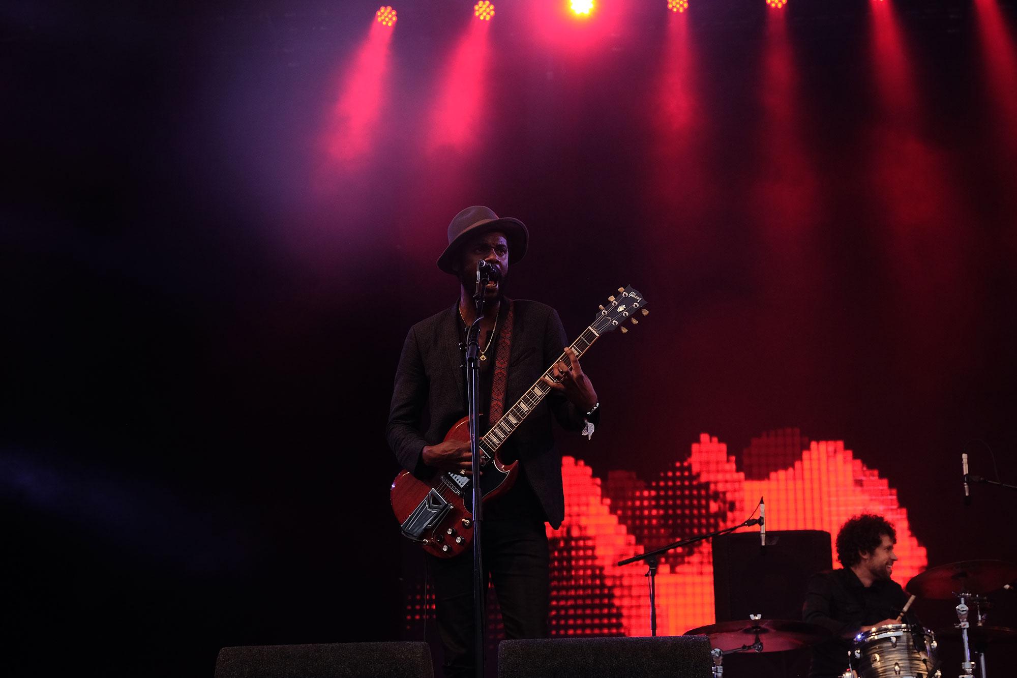 Gary Clark Jr at Glastonbury Festival, 2016