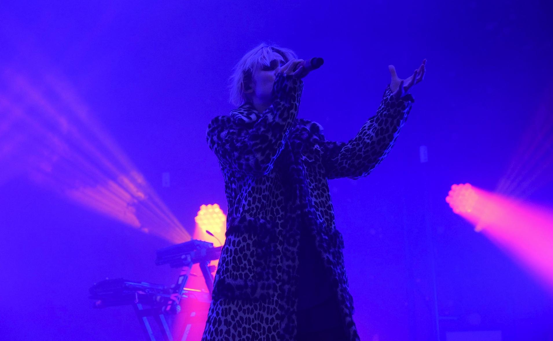 Grimes at Glastonbury Festival, 2016
