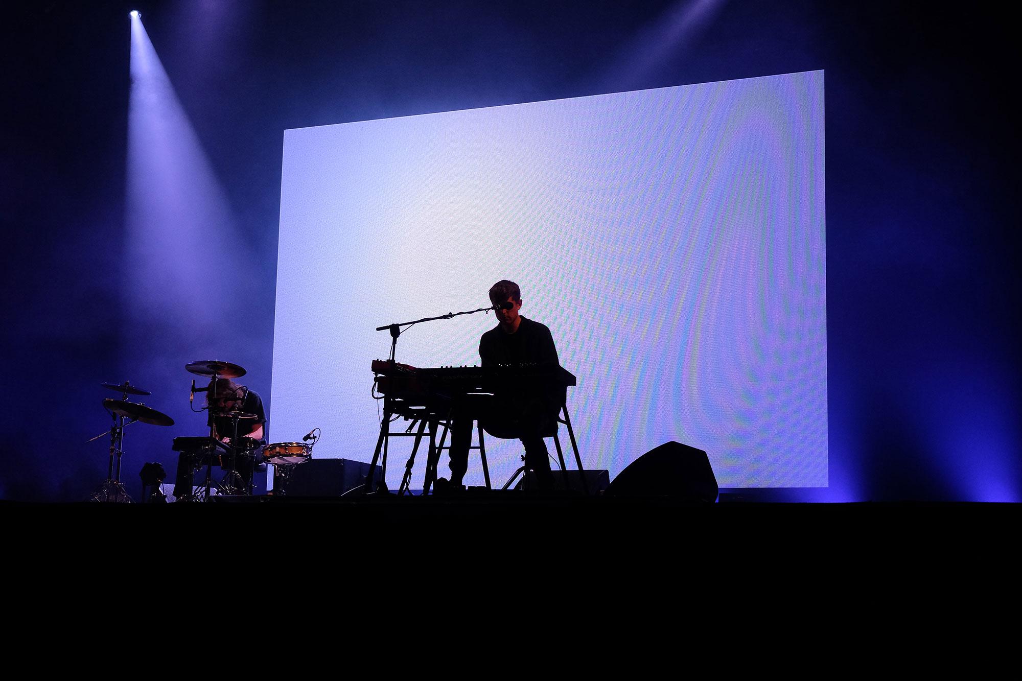 James Blake at Glastonbury Festival, 2016