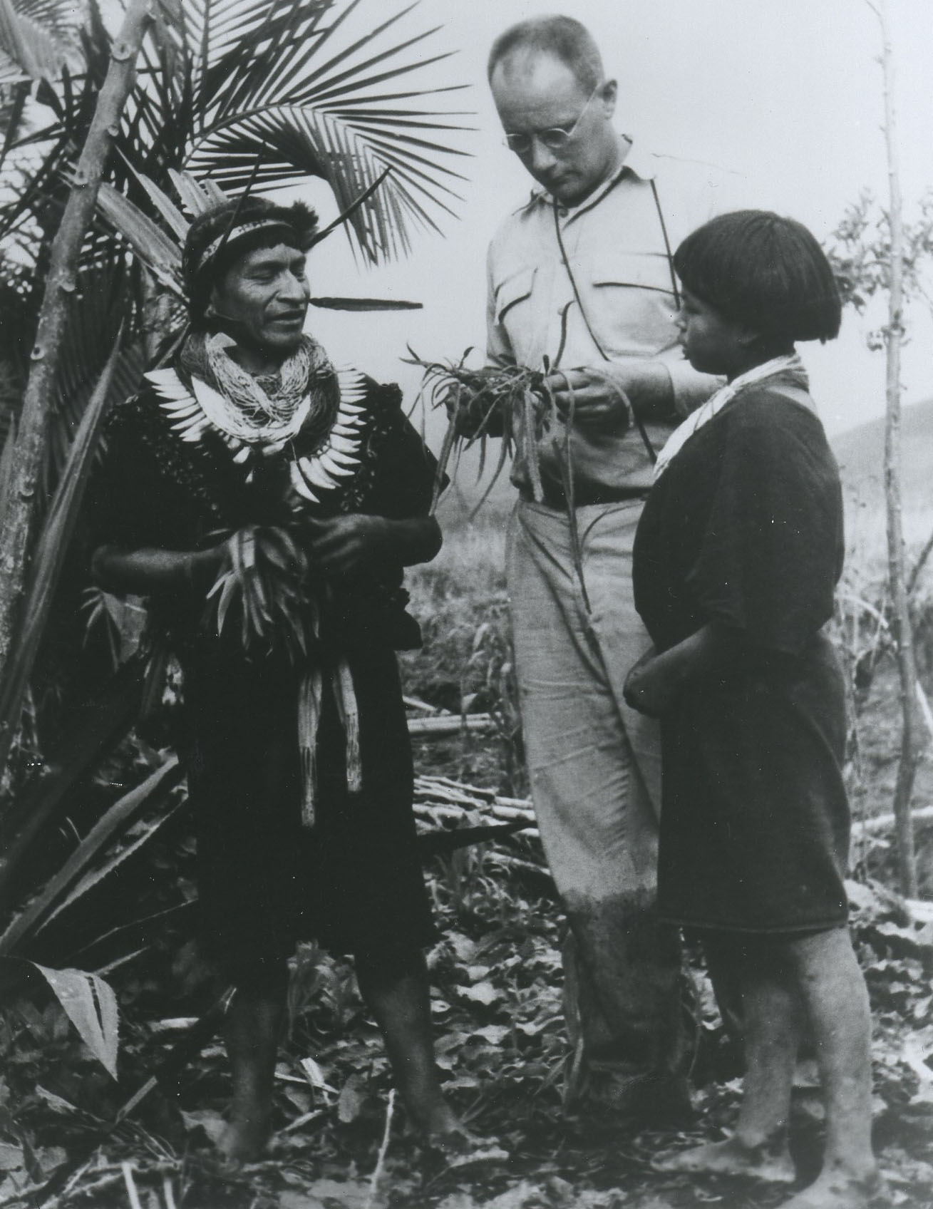 Dr. Richard Evans Schultes in the Amazon,1940.