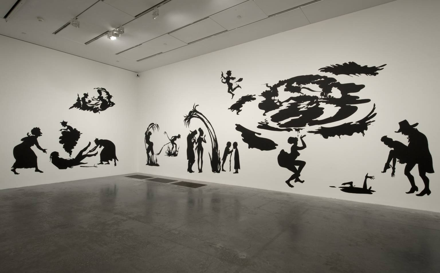 Grub for Sharks: A Concession to the Negro Populace , displayed at Tate Modern, 2004.