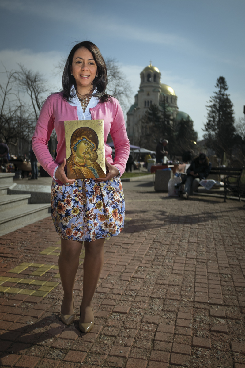 Johanna Alcantara is 36-years-old and moved from the Dominican Republic to Sofia six years ago.