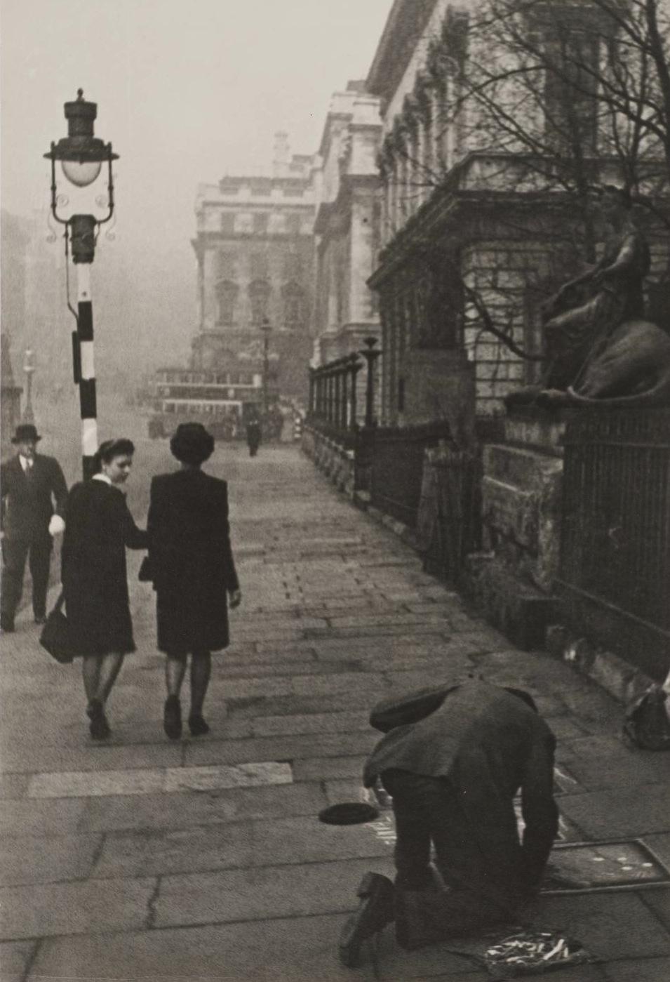 The Poor Artist , London, 1945 by Ivan Shagin.