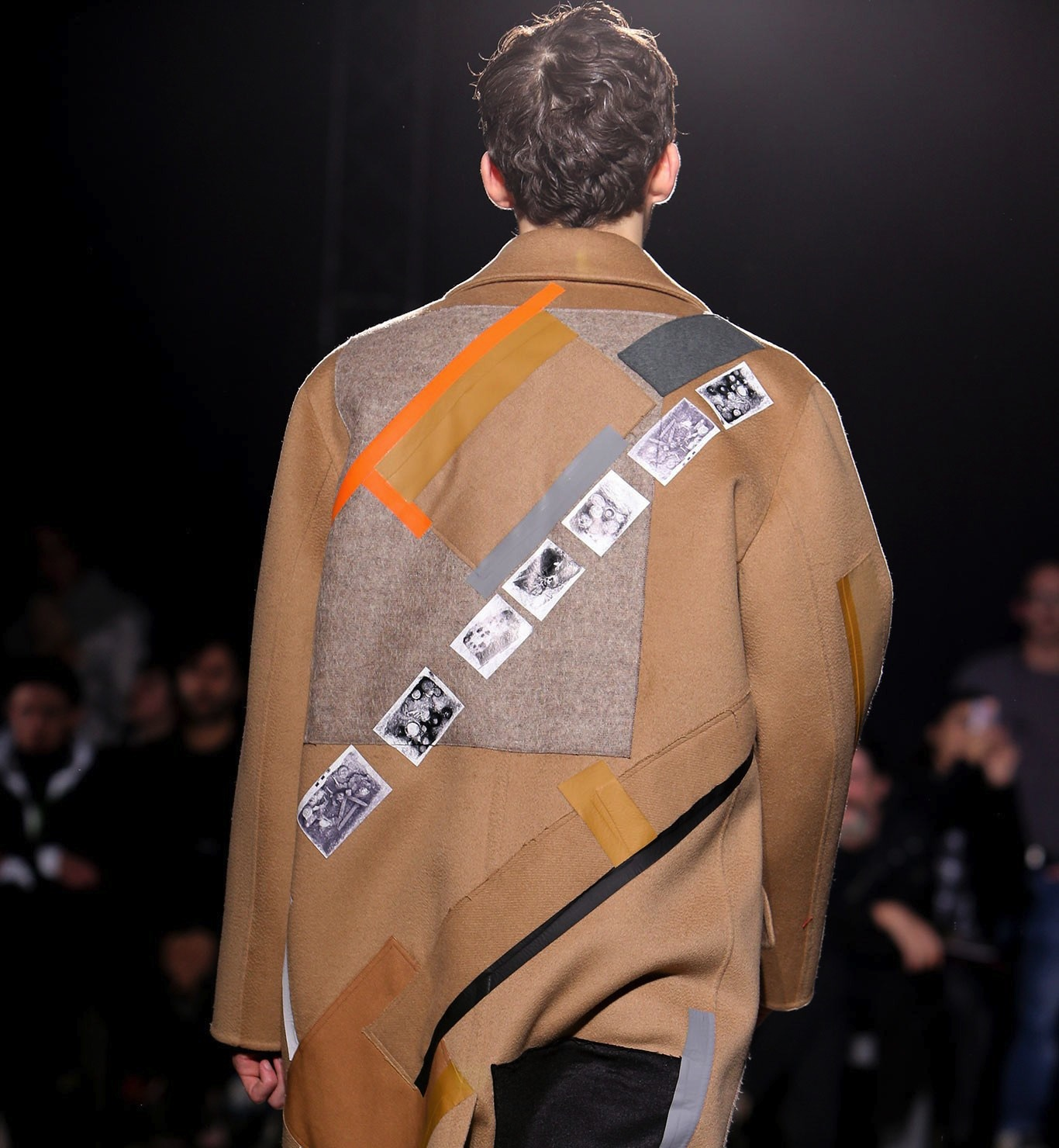 Detail from Raf Simons' Fall 2014 collection.  Photo source:   Vogue   Runway.