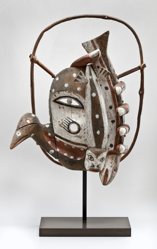 Mask , 1916-1918, Yup'ik Hooper Bay, Alaska.