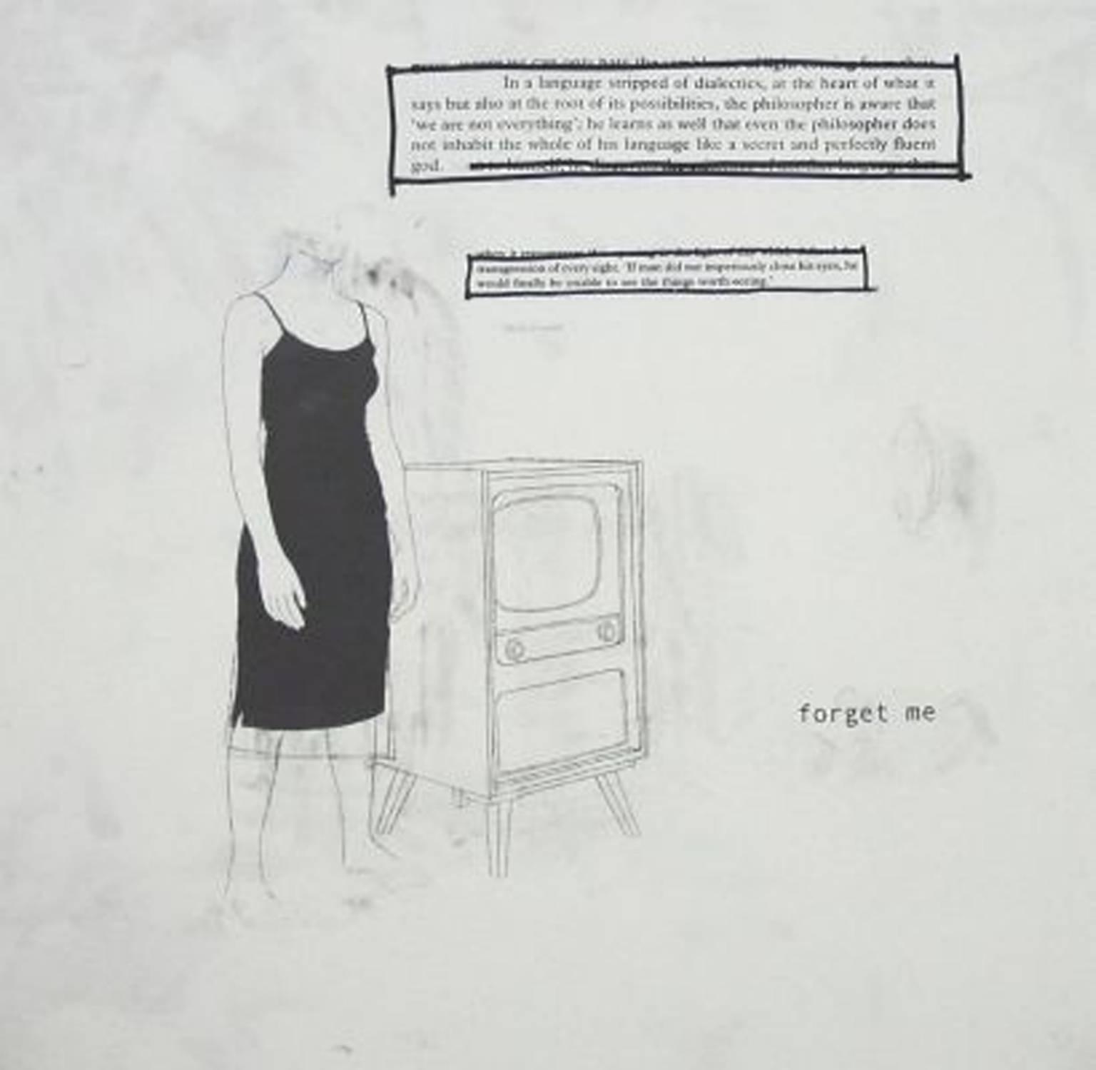 Forget Me, 2005 by  Julião Sarmento.