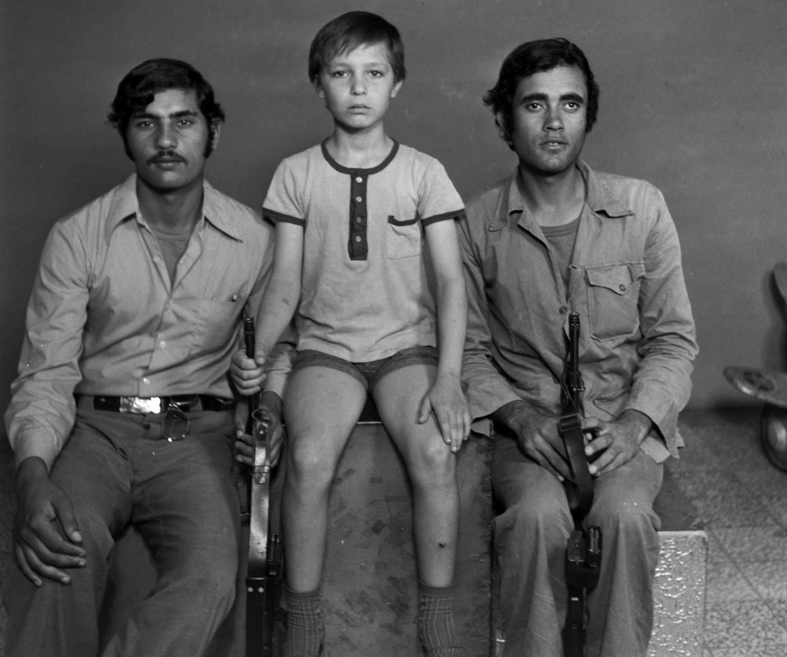 Palestinian Resistants ,Lebanon 1968-72 by Akram Zaatari.