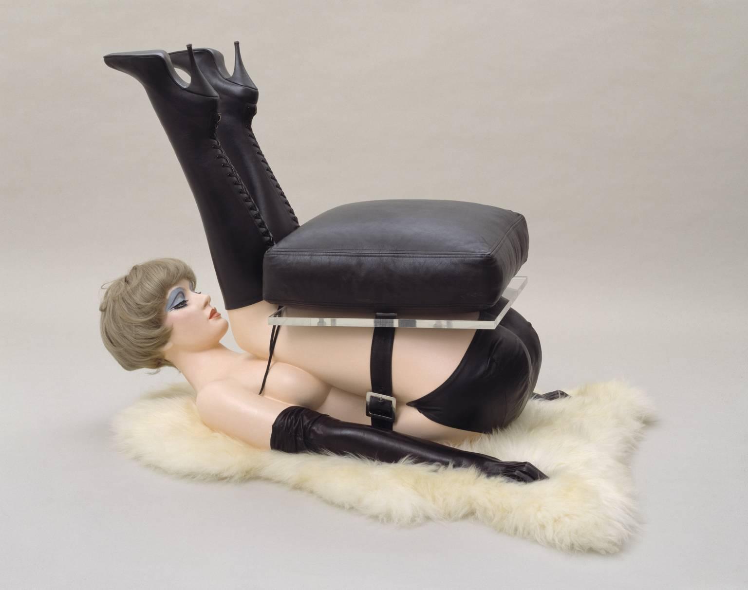 Chair , 1969 by Allen Jones.