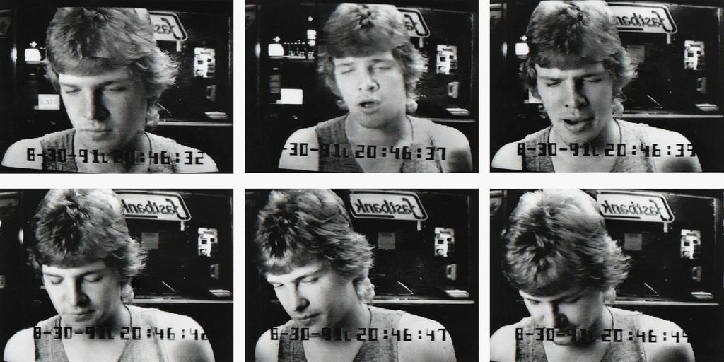 Cash Machine (06-40) , 1991 by Sophie Calle.