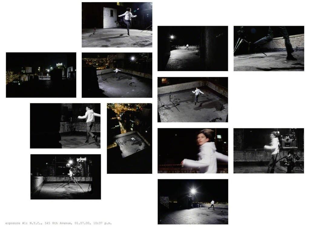 Exposure #1: N.Y.C., 545 8th Avenue ,  01.07.00, 10:37 p.m ., 2000 by Barbara Probst.