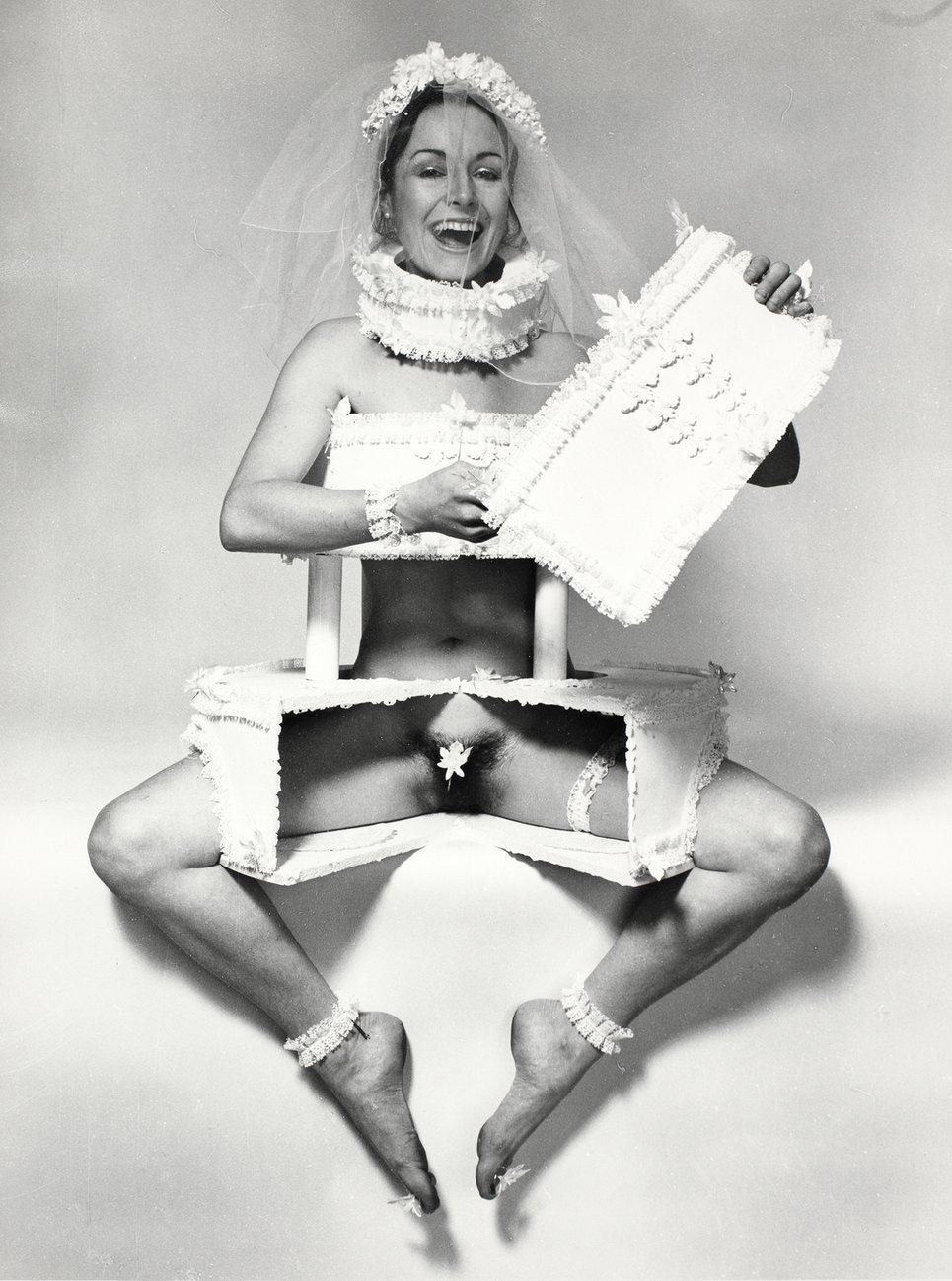 Wedding Invitation , 1973 by Penny Slinger.