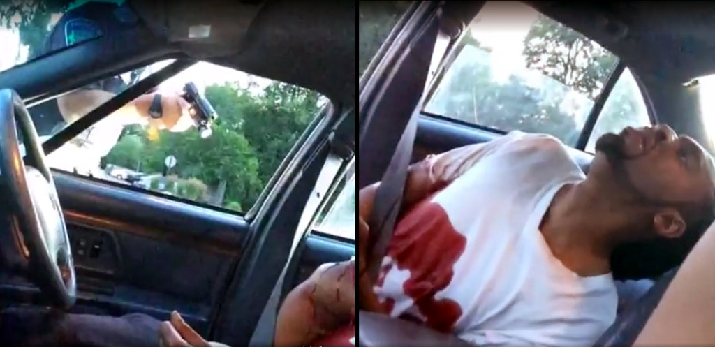 Images from a Facebook Live video showed the aftermath of the fatal police shooting of Philando Castile during a traffic stop.