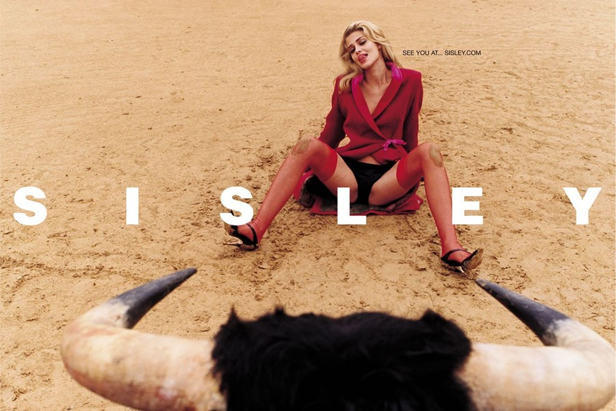 Sisley's ad campaign, shot by Terry Richardson.