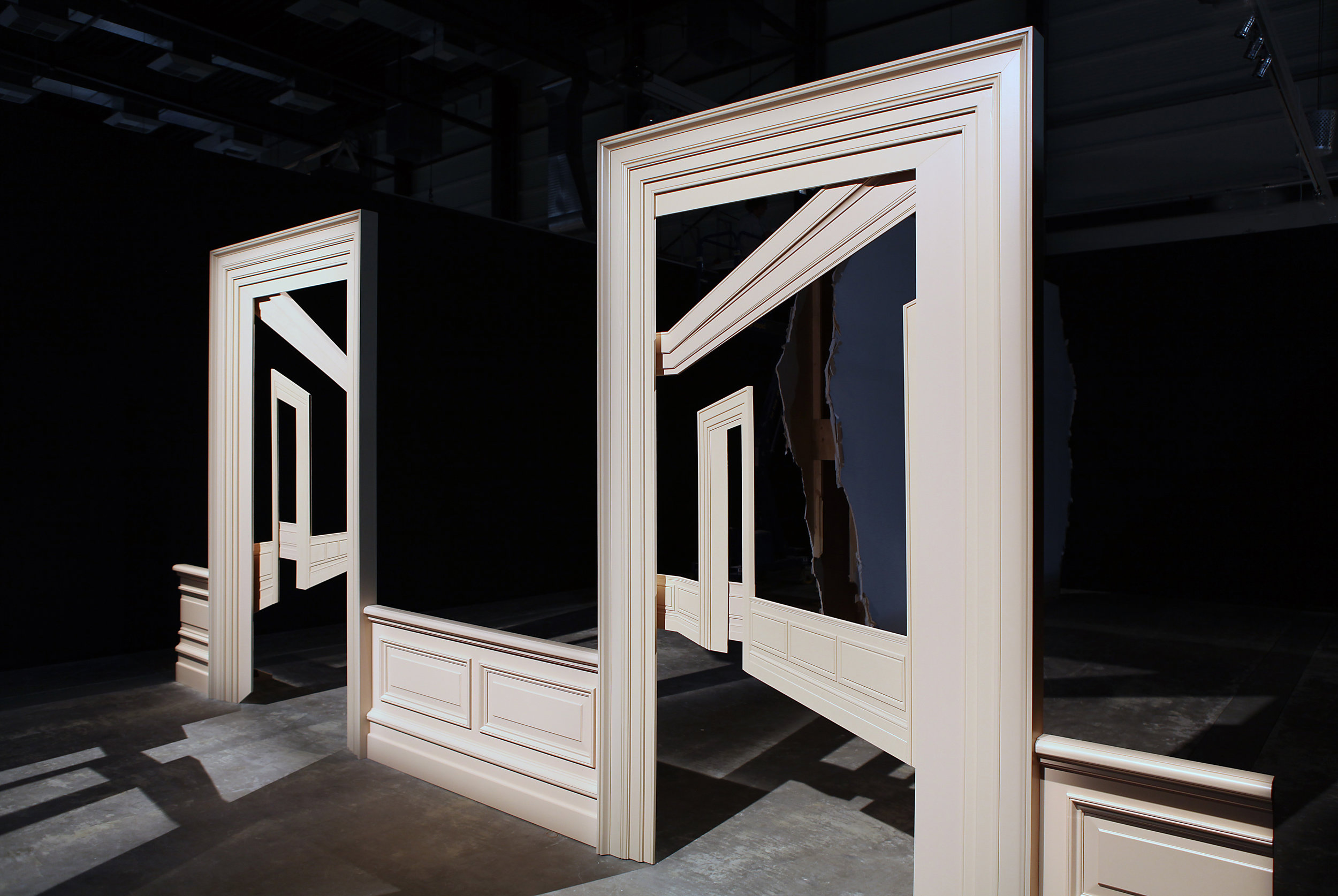SCRATCHINGS ON ACCEPTED TRUTHS: THE WORK OF WALID RAAD
