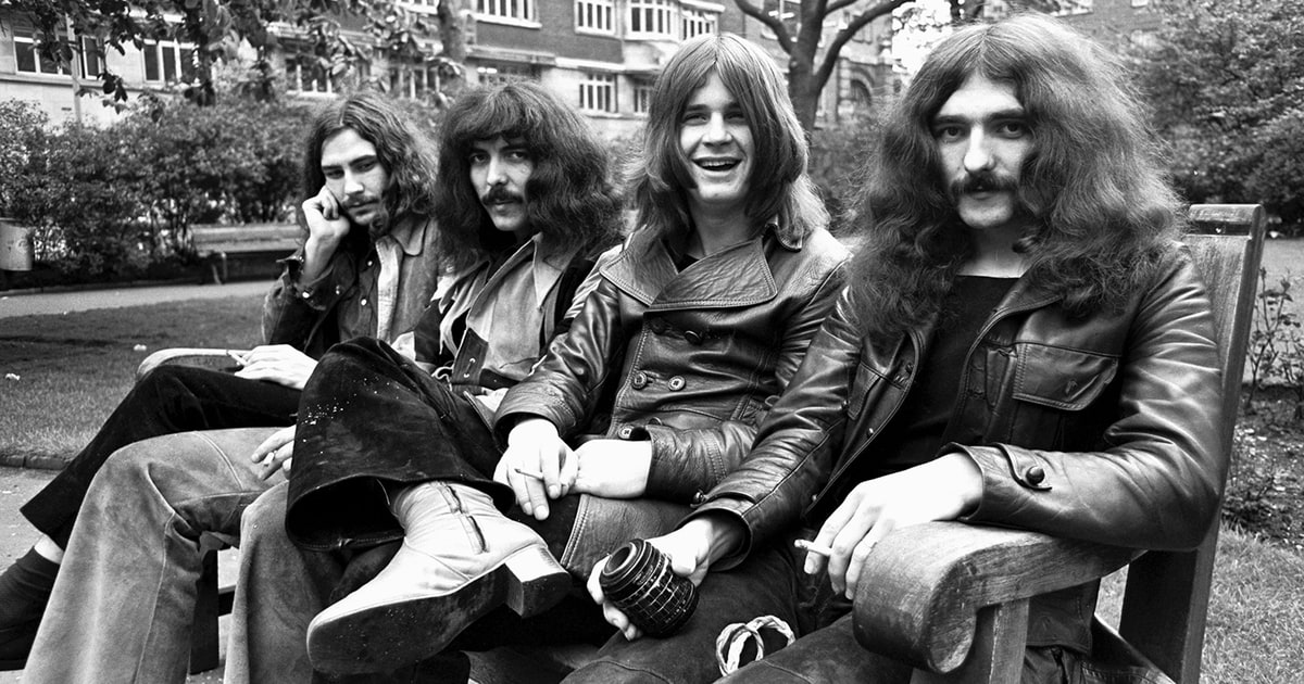 Black Sabbath, 1970. Photo by Chris Walter.