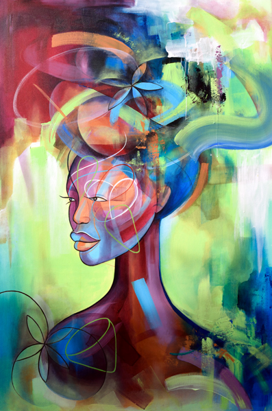 ARTIST BREAK: AYESHA FEISAL