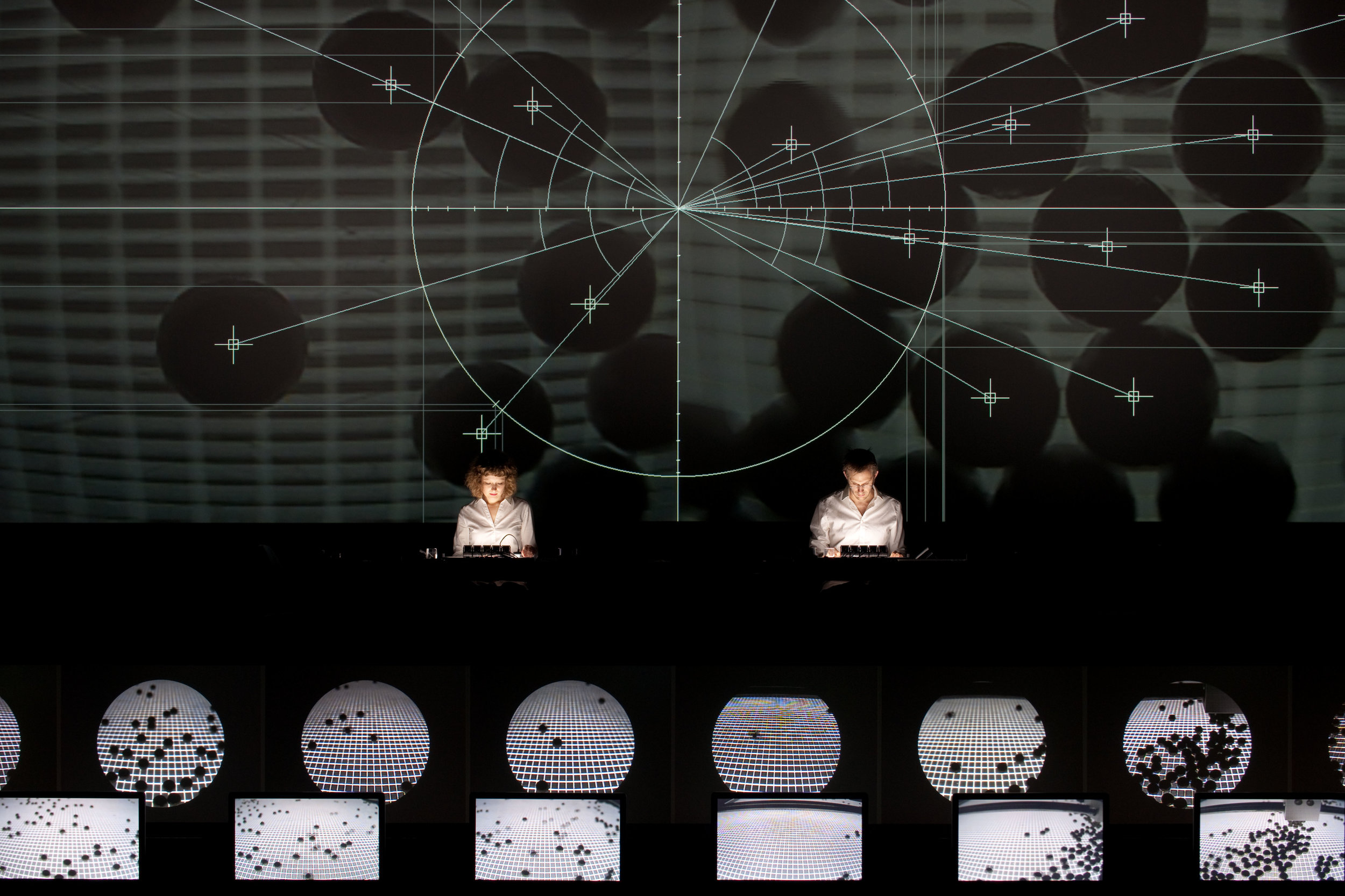 Data collection from the series  Datamatics , 2006 by  Ryoji Ikeda