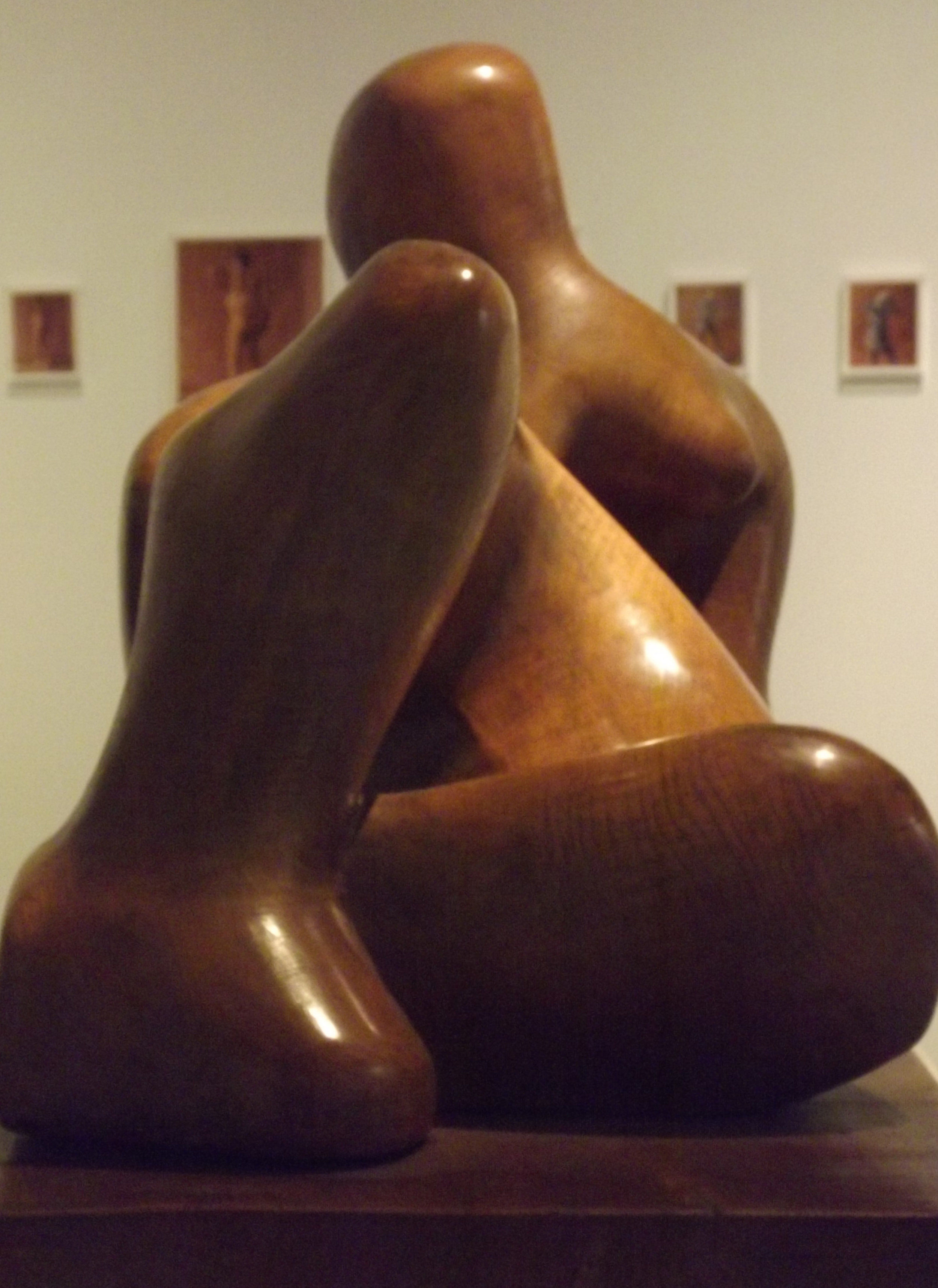 Reclining Figure , 1936 by Henry Moore.