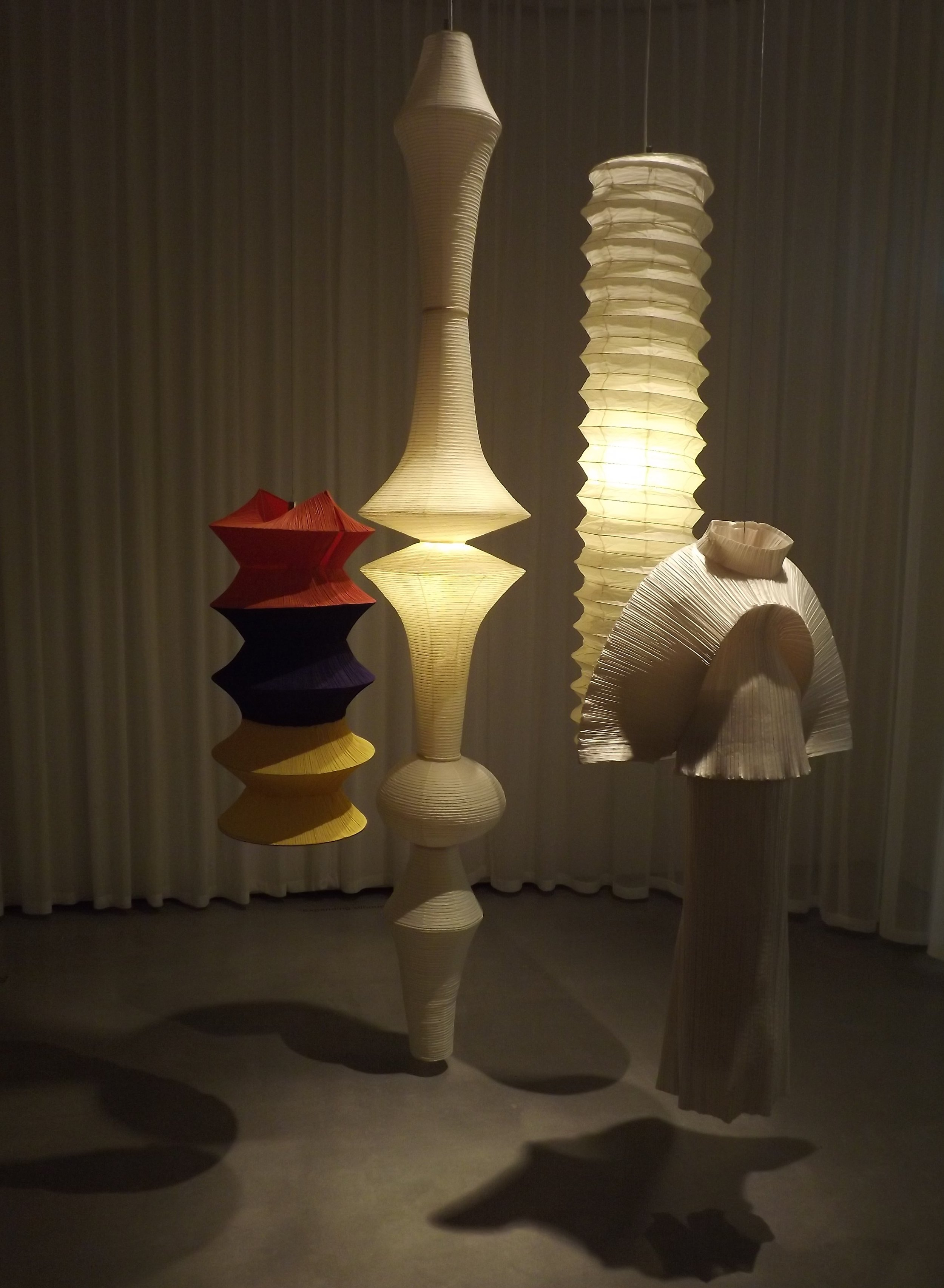 Archive pieces from Issey Miyake's ' Pleat Please ' and ' Bamboo ' collection.