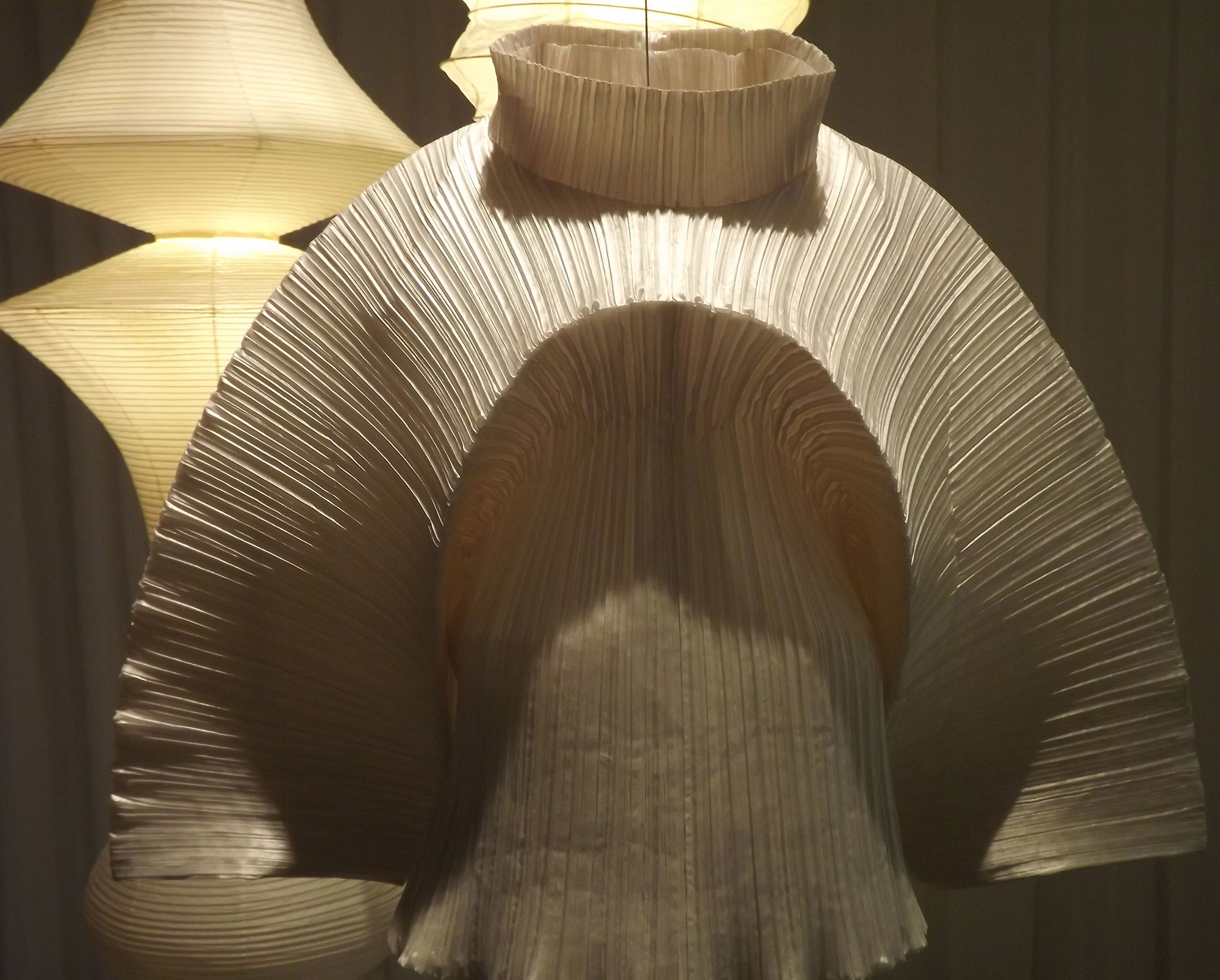 Bamboo Pleats  dress from ' Bamboo ' AW'89 by Issey Miyake.