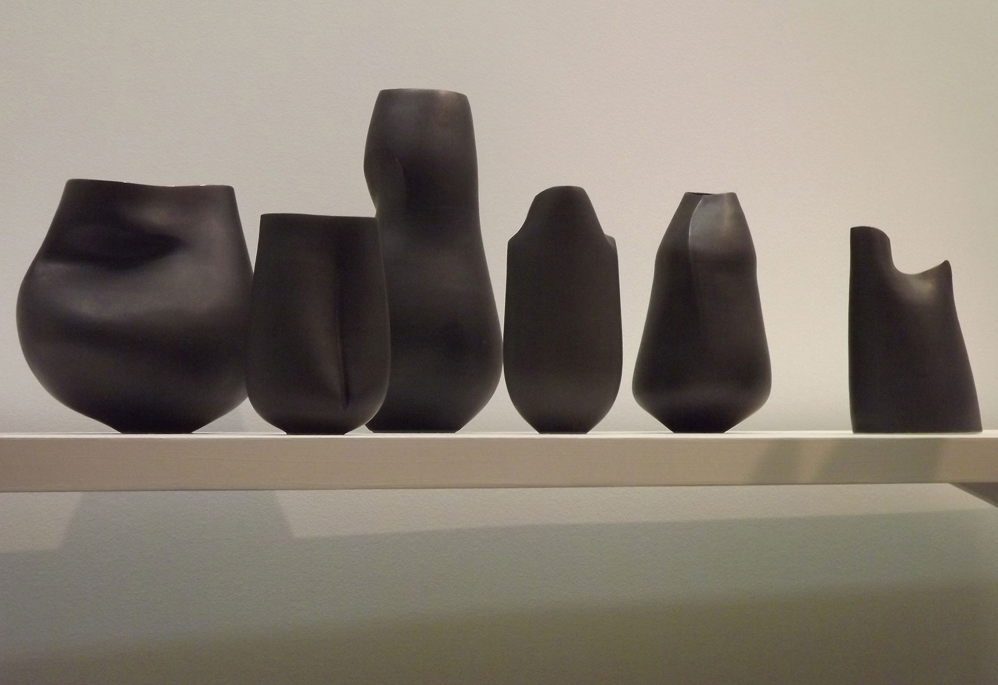 A collection of camber vessels, 2015 by Sara Flynn.