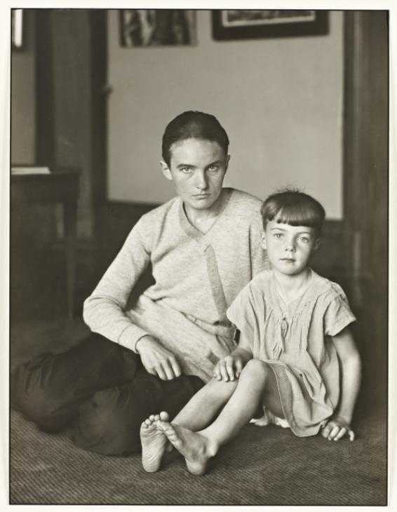 Helene Abelen with Daughter Josepha ,1926 by August Sander.