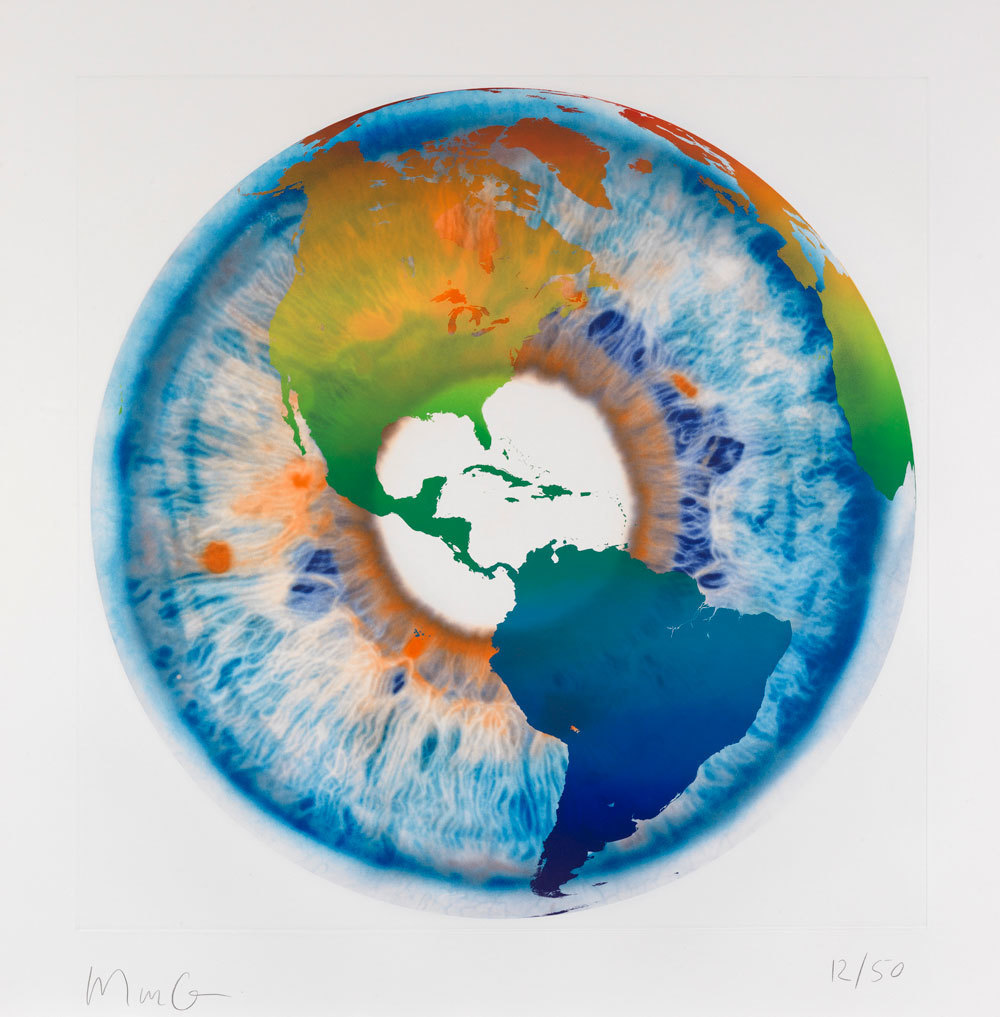 Eye of History I , 2013 by Marc Quinn
